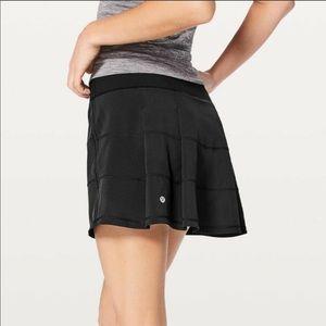 Lululemon Pace Rival Black Skirt Size 4